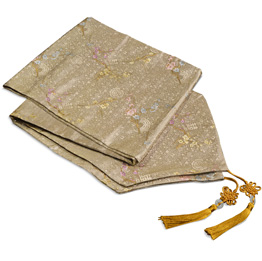 Asian Style Decorative Silk Table Runners