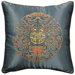 Asian Style Decorative Silk Pillows