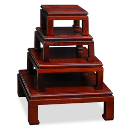 Asian Style Decorative Stands and Pedestals