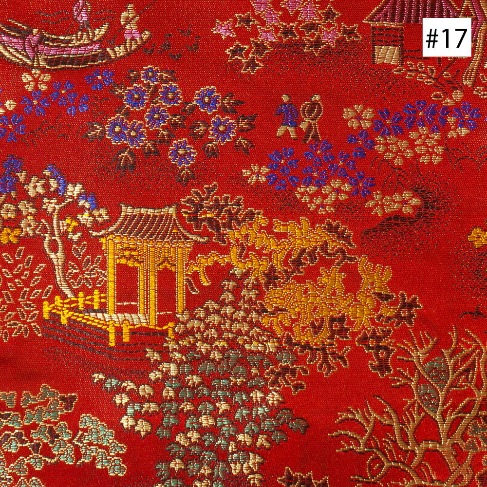 Chinese Courtyard Design (#17, #18, #19) Dining Chair Cushion