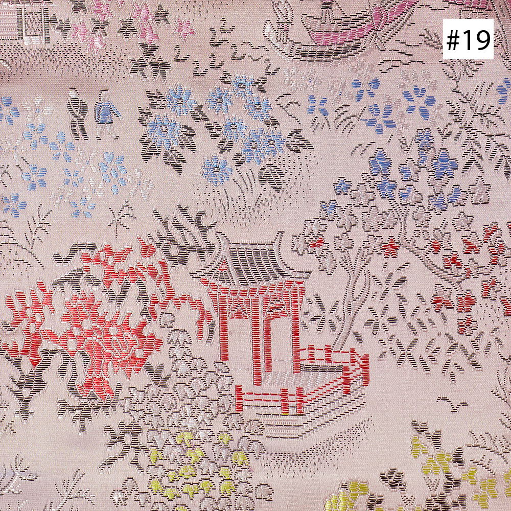 Chinese Courtyard Design (#17, #18, #19) Ming Style Chair Cushion