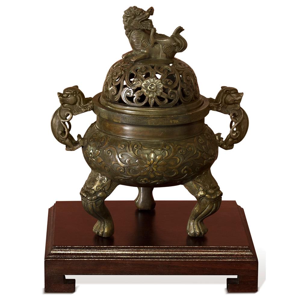 Bronze Imperial Kirin Incense Burner