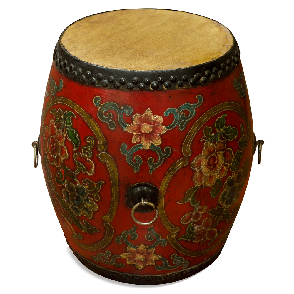Hand Made Tibetan Drum