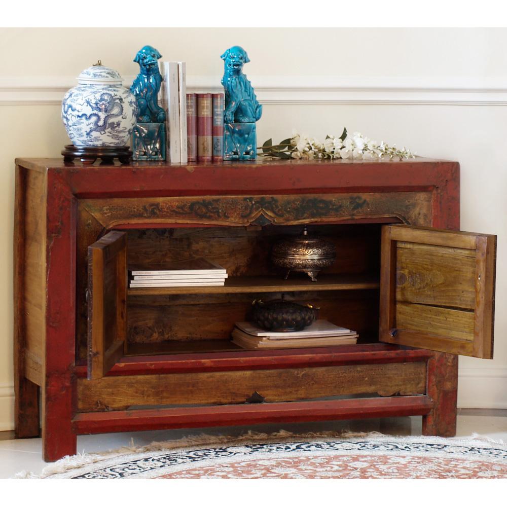 Elmwood 2-Door Mongolian Cabinet
