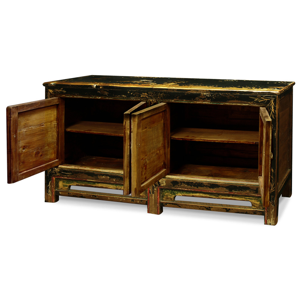 Elmwood 4-Door Mongolian Cabinet