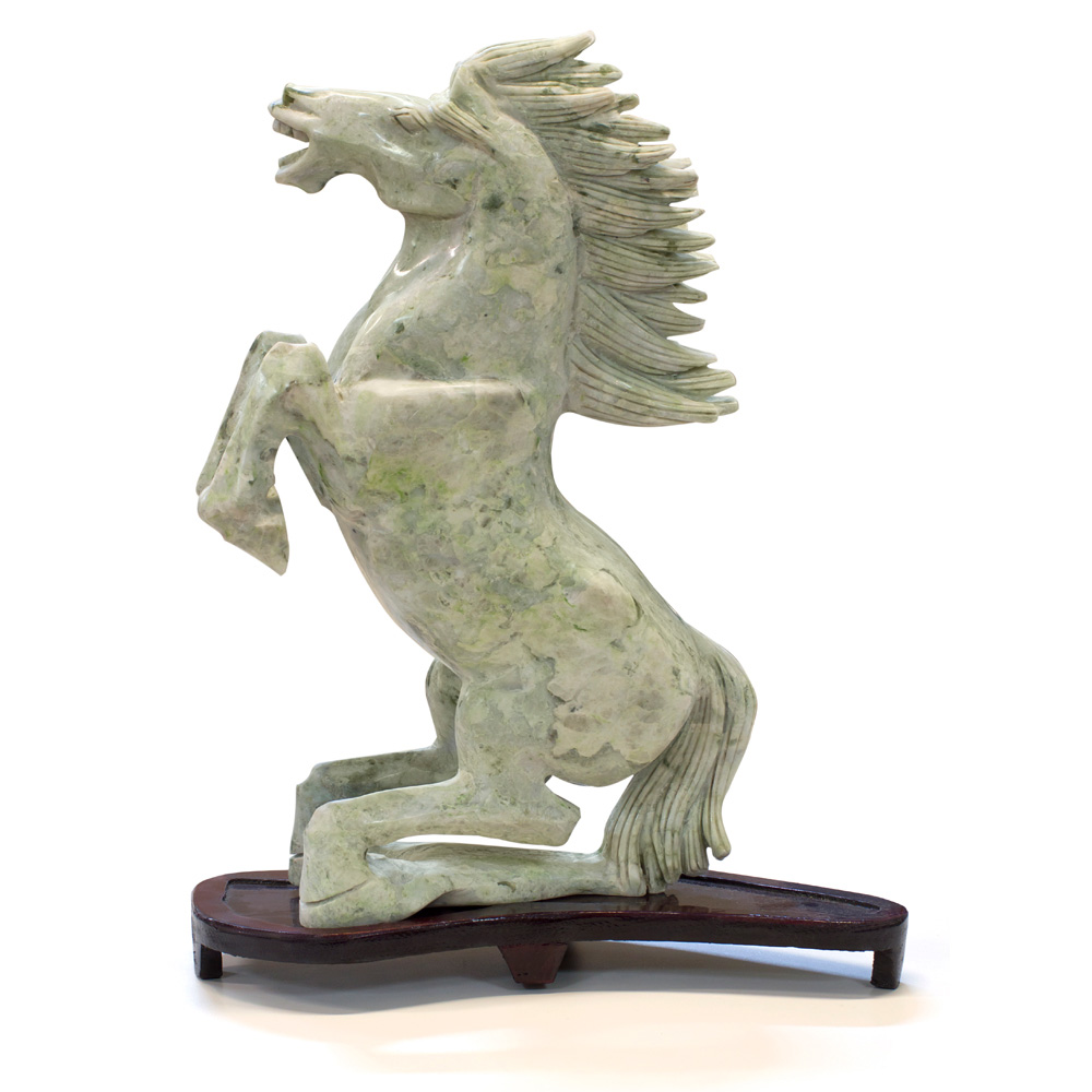 Hand Carved Jade Flying Horse