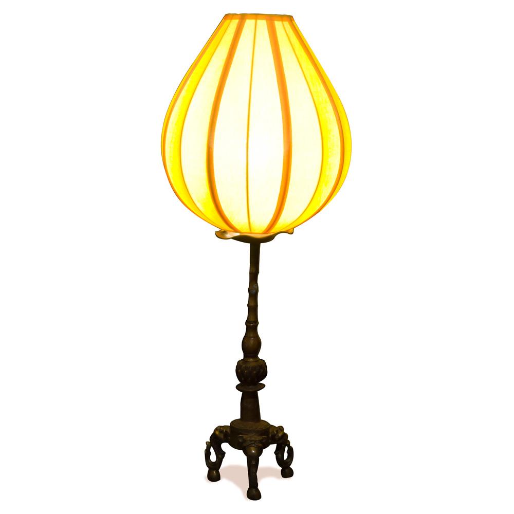 Tang Brass Chinese Table Lantern