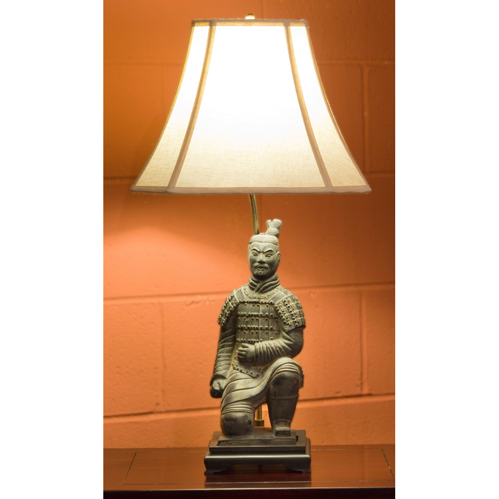 Terracotta Soldier Table Lamp with Shade : ALS04P01FRONTON from www.chinafurnitureonline.com size 1000 x 1000 jpeg 160kB
