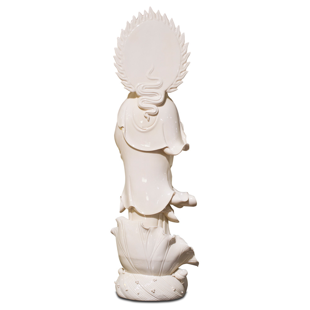 White Porcelain God of Mercy