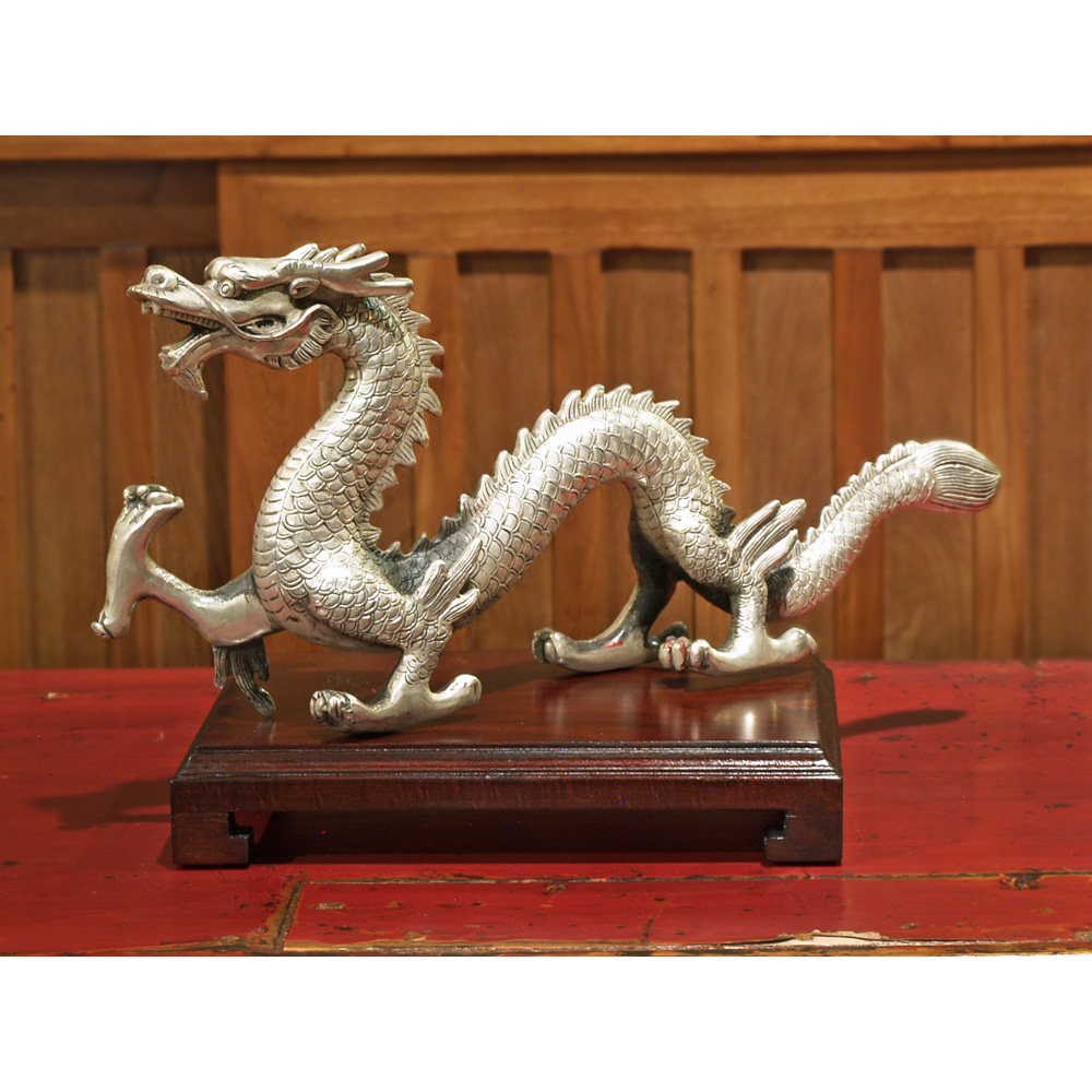 Silver Prosperity Dragon