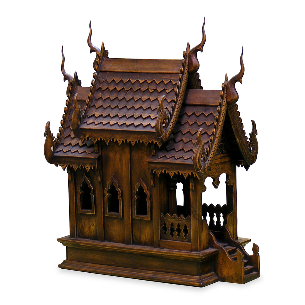Morrocan Bedroom Teakwood Thai Spirit House