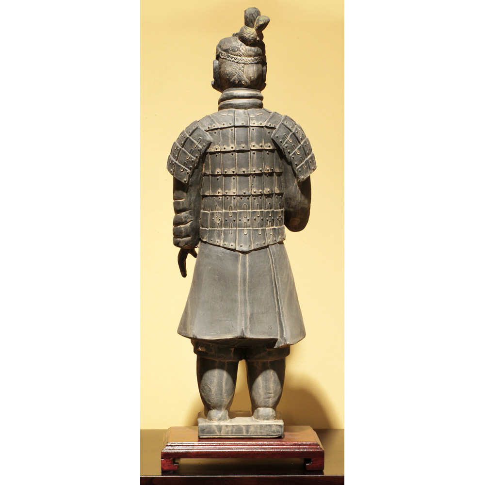 24 Inch Terracotta Standing Infantry Warrior