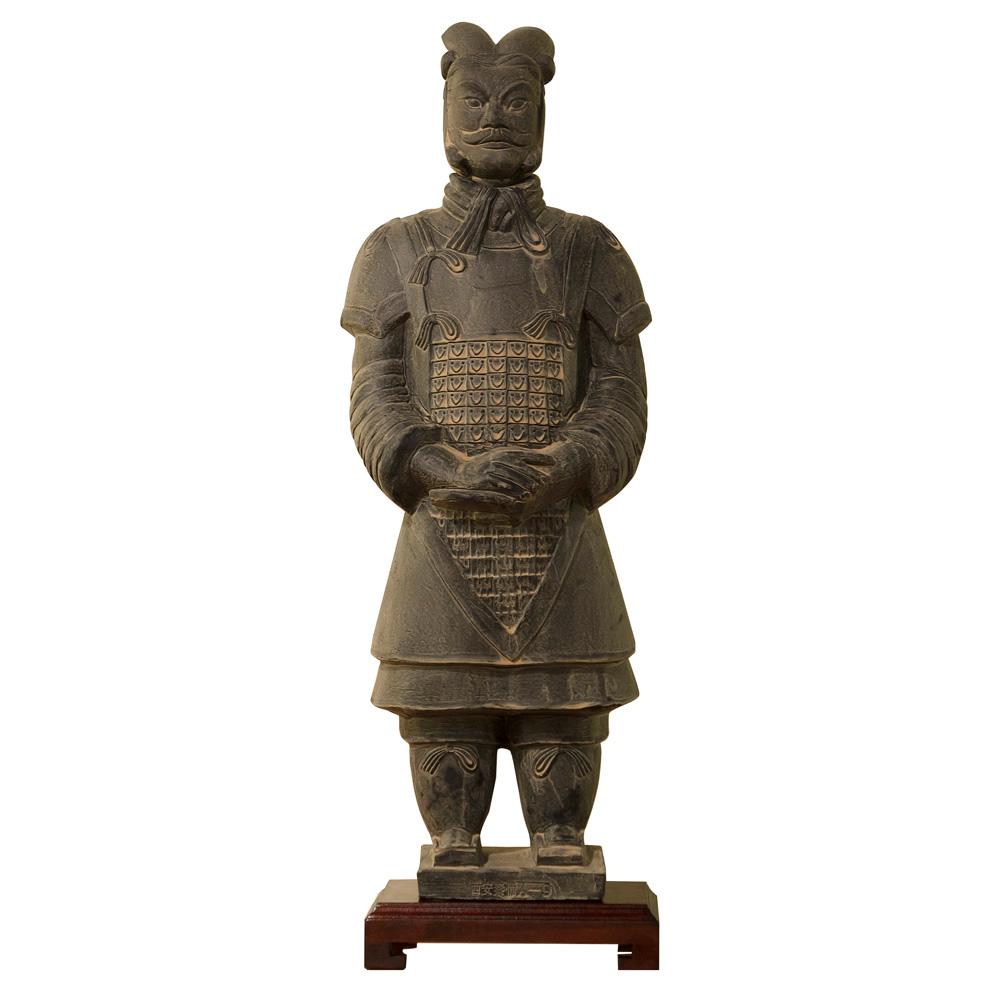 23 Inch Terracotta Army General Warrior