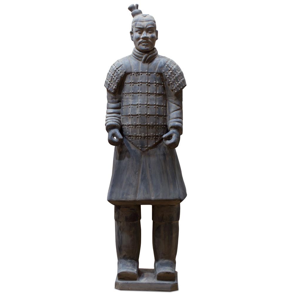 72 Inch Terracotta Chariot Warrior