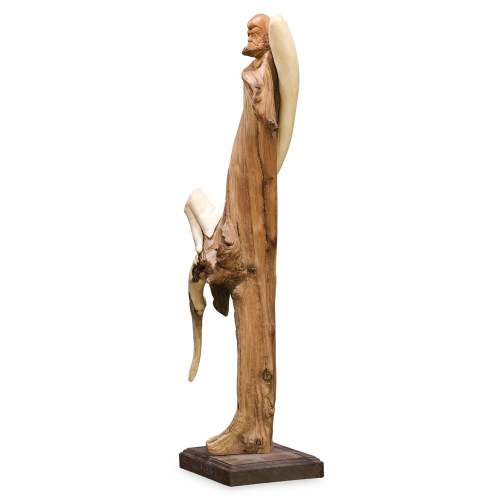 Cedar Wood Root Carving Da Mo