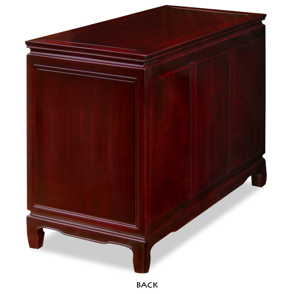 Rosewood Longevity Motif Chest of Drawers