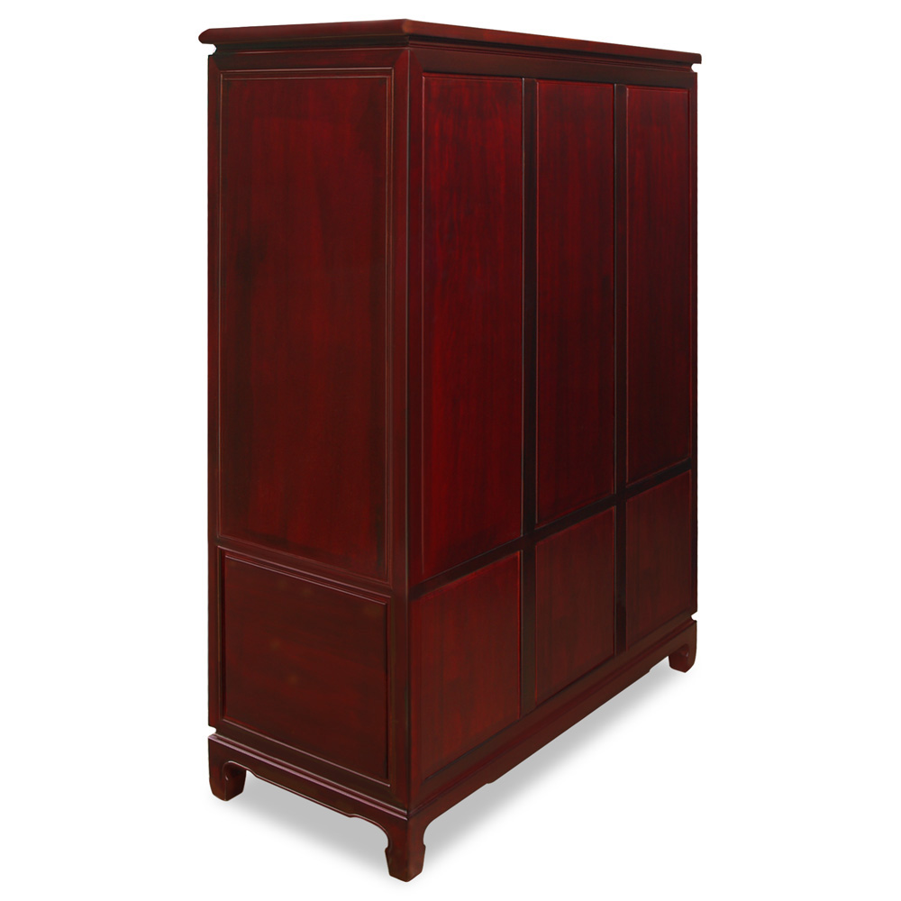 Rosewood Dragon & Phoenix Design Armoire