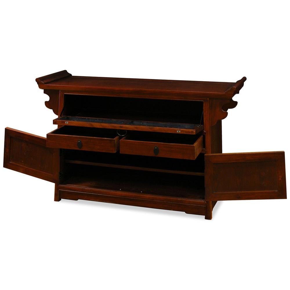Elmwood Kitchen Cabinet Door Styles: Elmwood Altar Style Media Cabinet