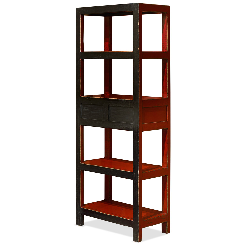Elmwood Zen Bookcase