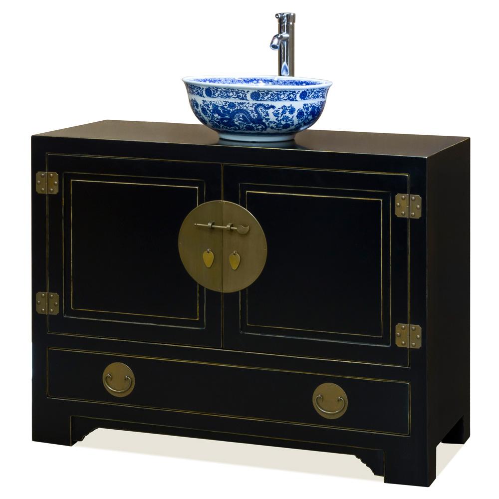 Elmwood Kitchen Cabinet Door Styles: Elmwood Black Ming Cabinet
