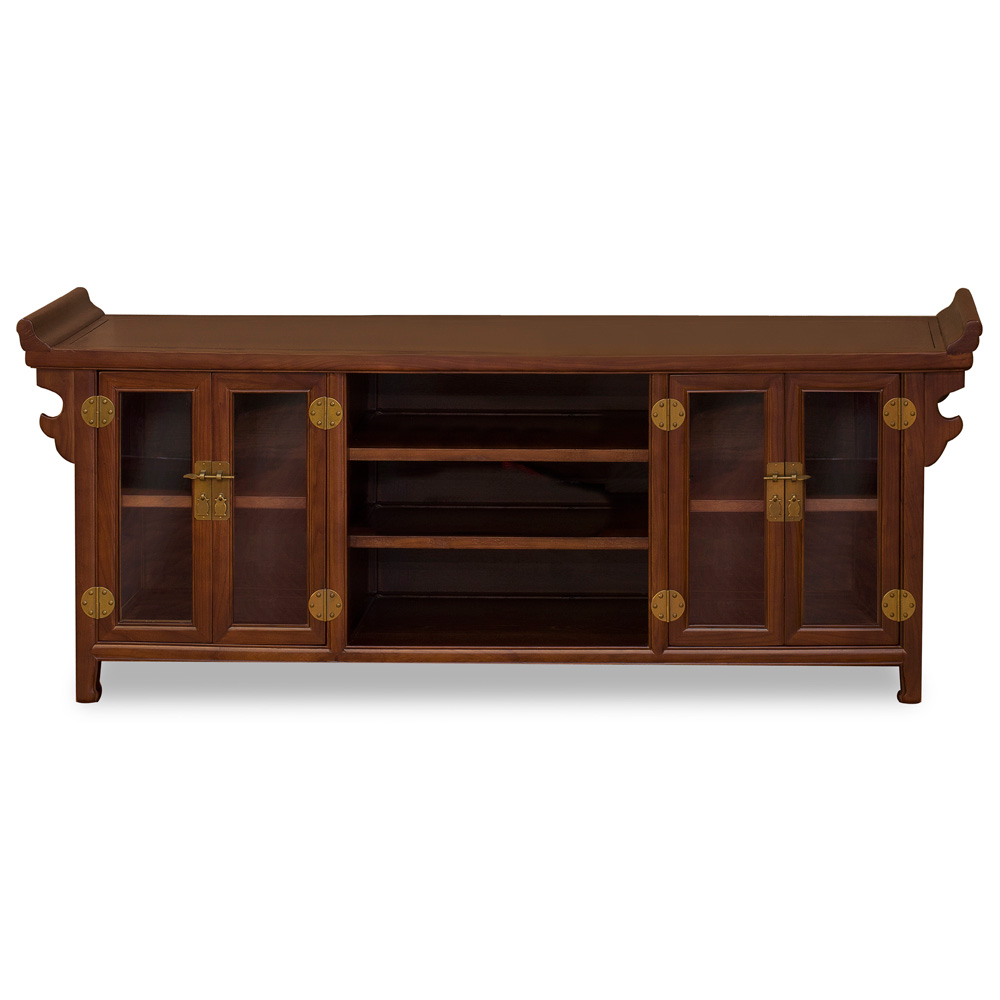 Elmwood Altar Style Media Cabinet