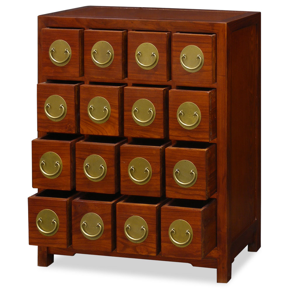 Asian Apothecary Organizer Chest
