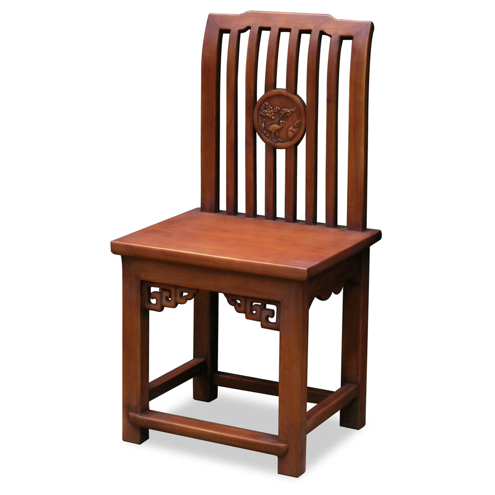 Elmwood Ming Style Comb Chair