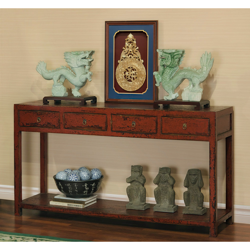 Elmwood Ming Design Console Table