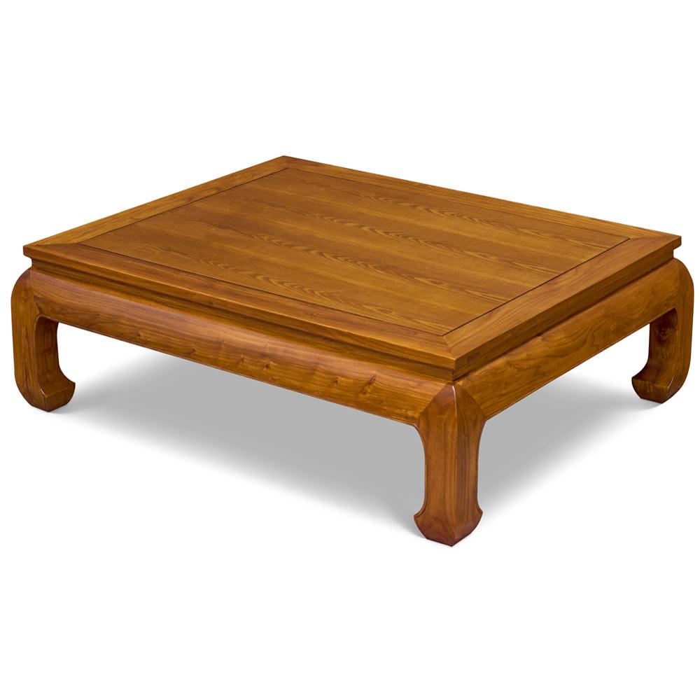 Elmwood Ming Style Rectangular Coffee Table