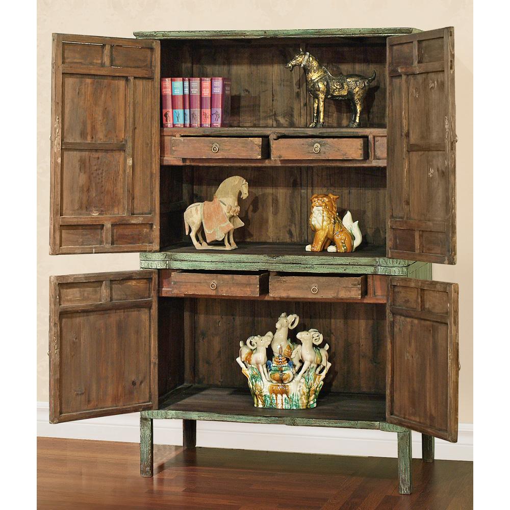 Elmwood Qing Curio Cabinet