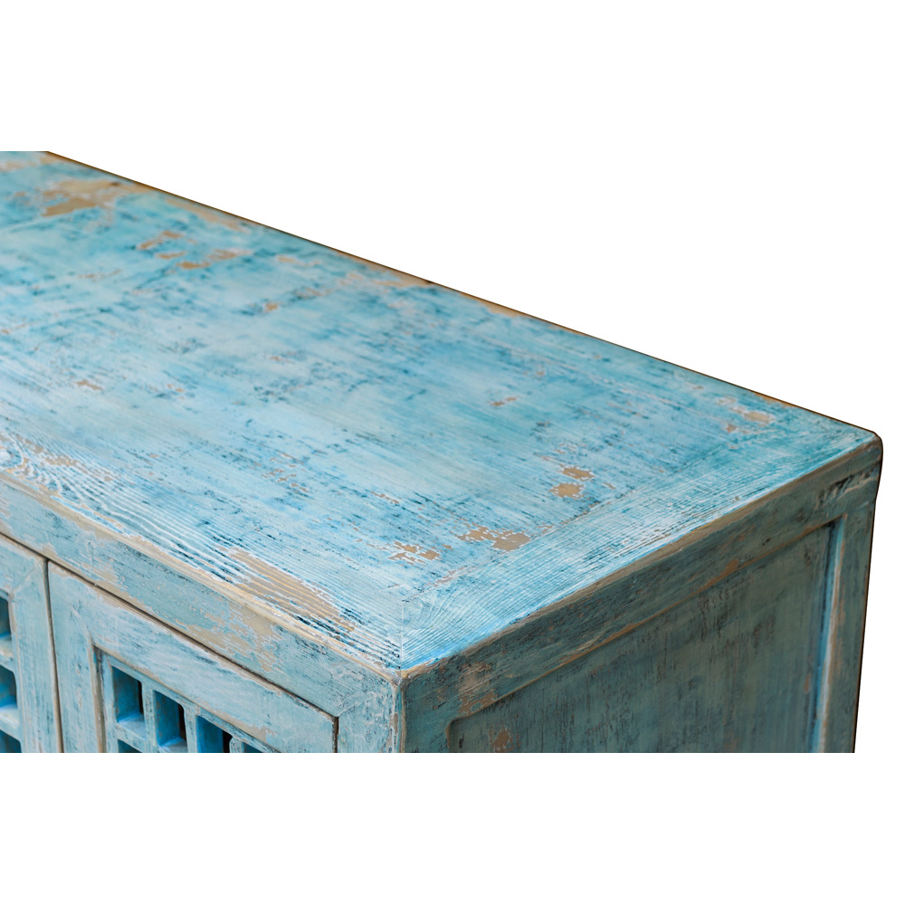 Distressed Elmwood Dynasty Sideboard