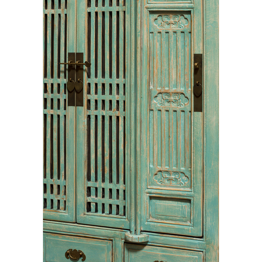 Elmwood Light Blue Storage Cabinet