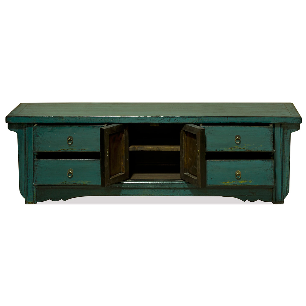 Elmwood Dark Teal Kang Sideboard
