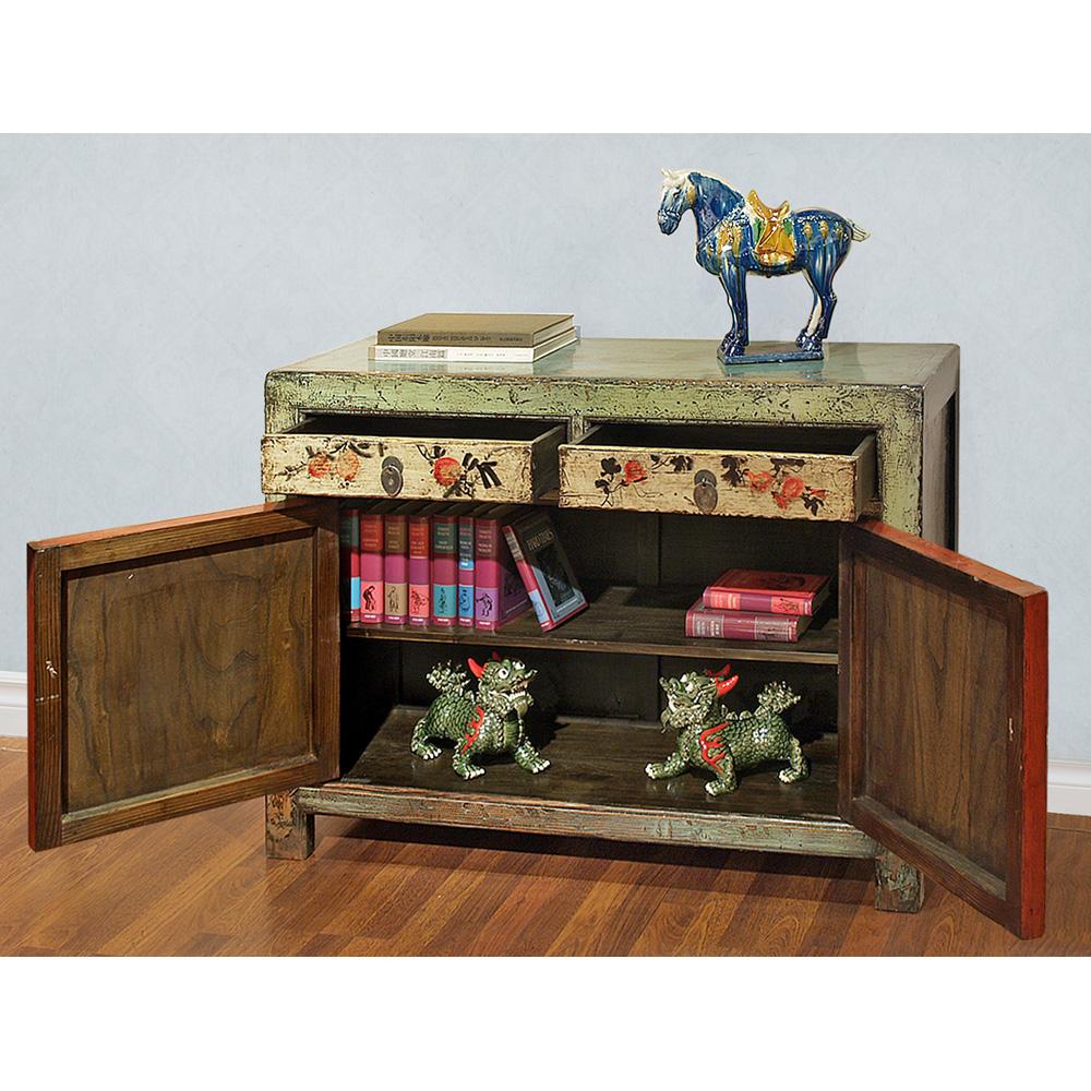 Elmwood Mongolian Cabinet