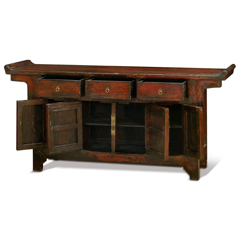 Elmwood Ming Altar Cabinet