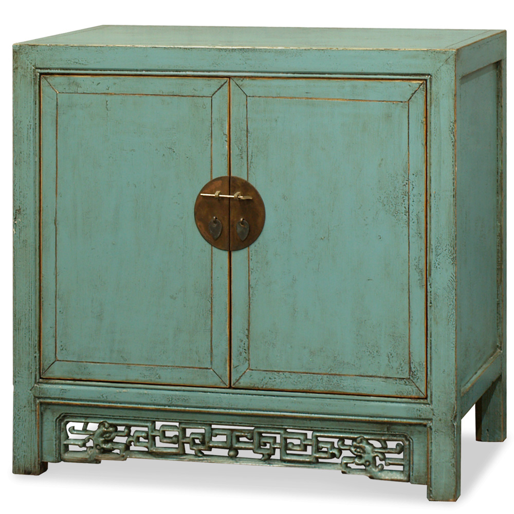 Elmwood Blue Ming Cabinet