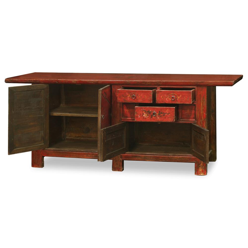 Elmwood Qing Style Sideboard
