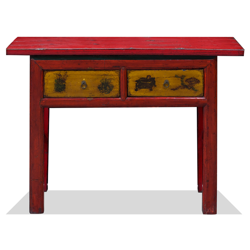 Vintage Elmwood Village Console Table