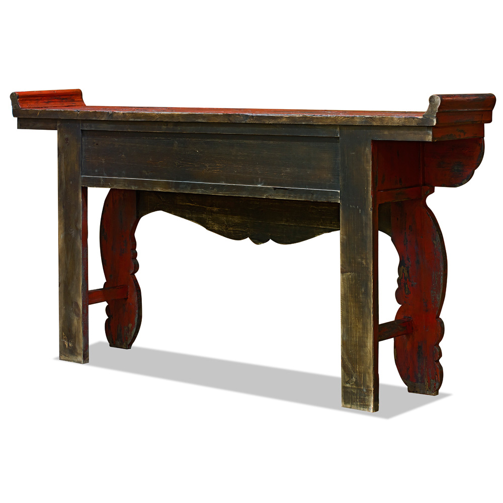 Elmwood Vintage Imperial Altar Console Table