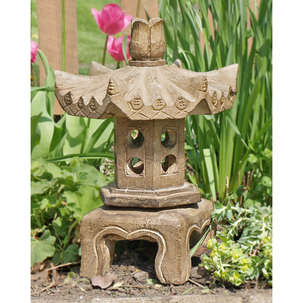 Chinese Stone Pagoda Lantern