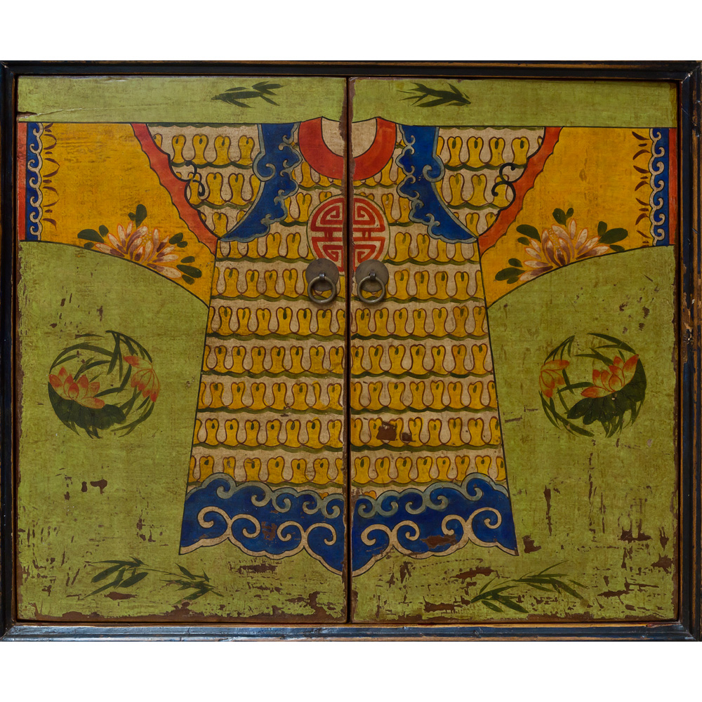 Elmwood Vintage Mandarin Cabinet