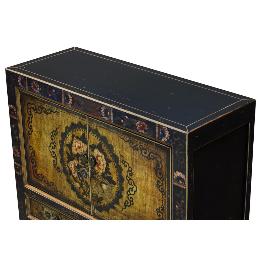 Elmwood Yun Nan Oriental Cabinet