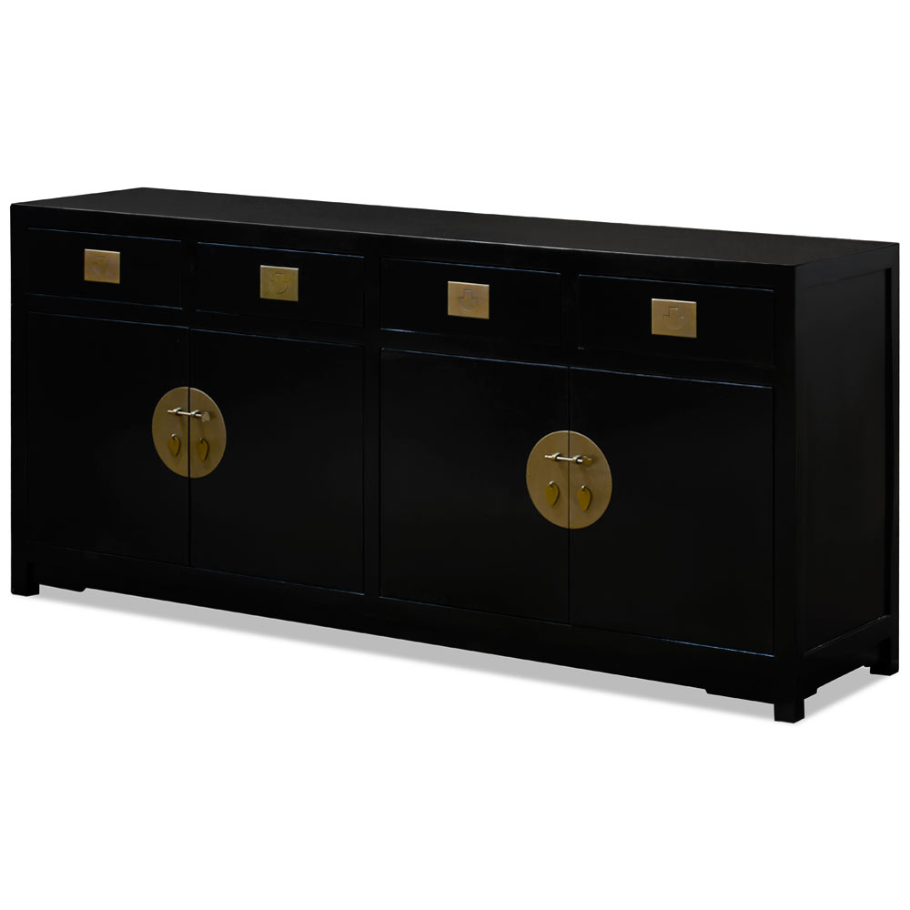 Black Elmwood Zen Sideboard