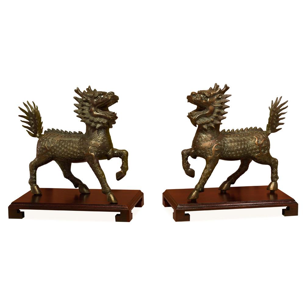 Bronze Kirin Set