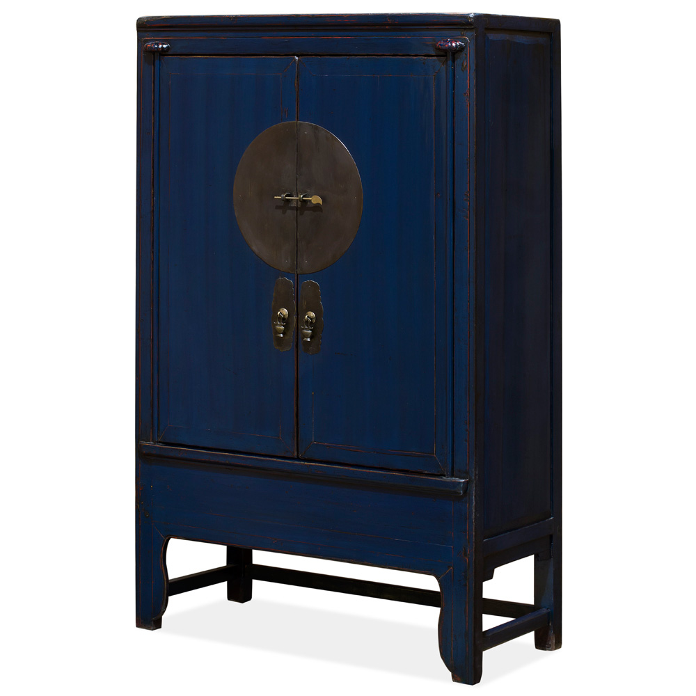 Vintage Elmwood Midnight Blue Wedding Cabinet