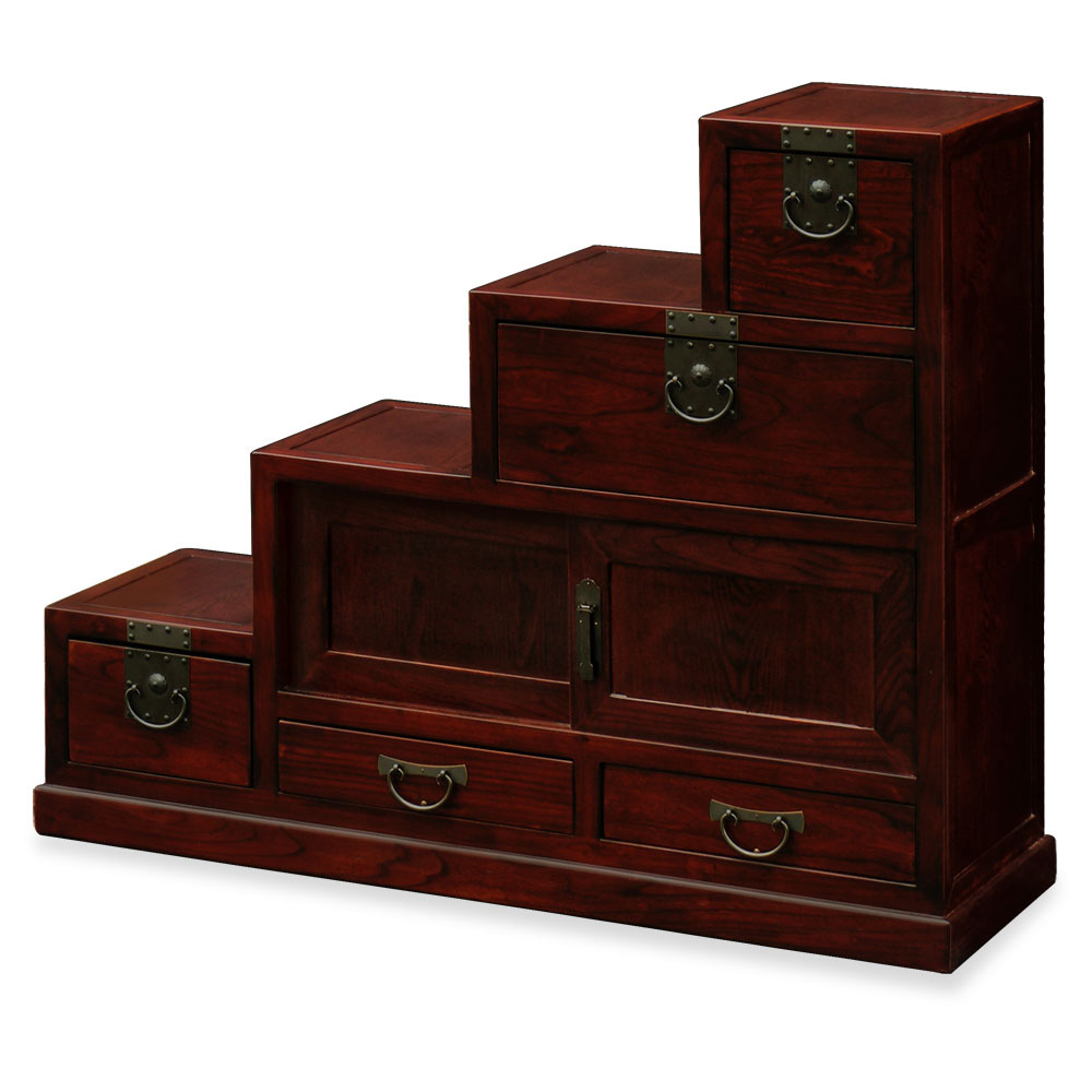 Elmwood Japanese Style Step Tansu : BJTS03C from www.chinafurnitureonline.com size 1000 x 1000 jpeg 90kB