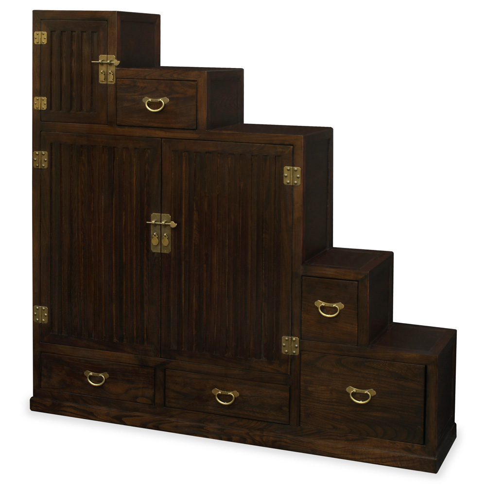 Elmwood Step Tansu Chest