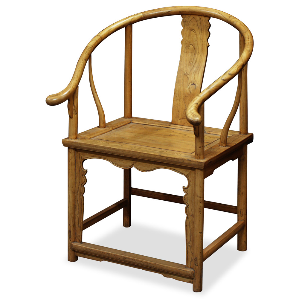 Elmwood Ming Tai Shi Arm Chair