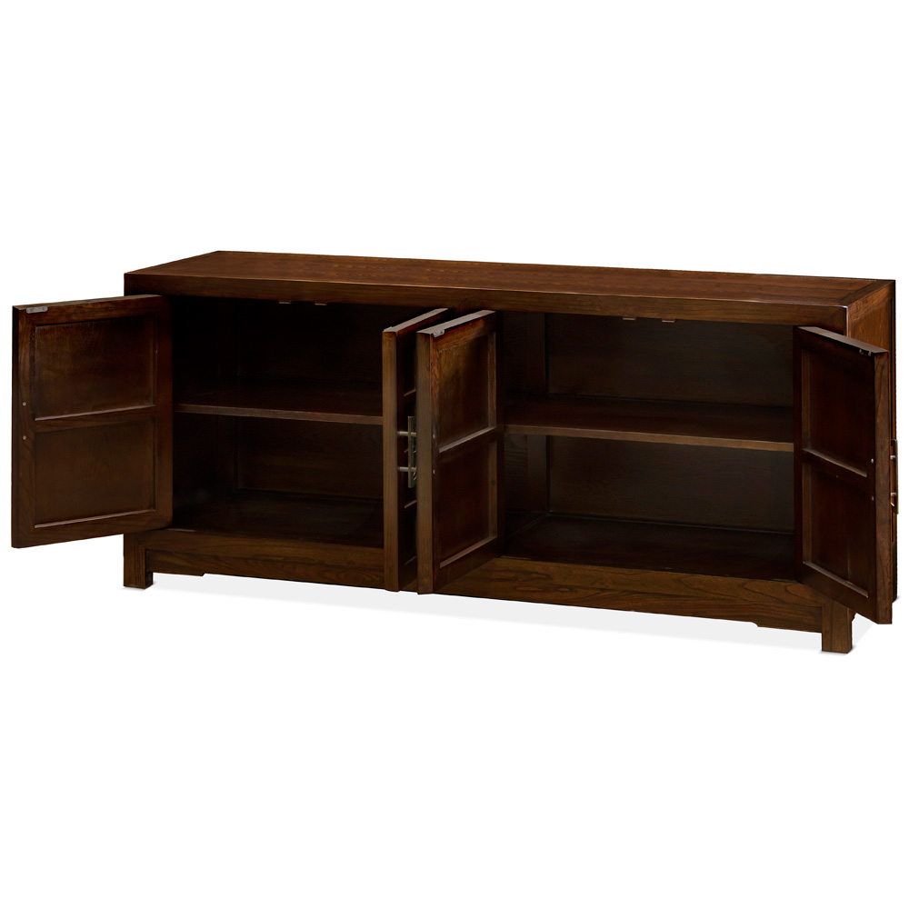 Elmwood Japanese Sho Ji Sideboard