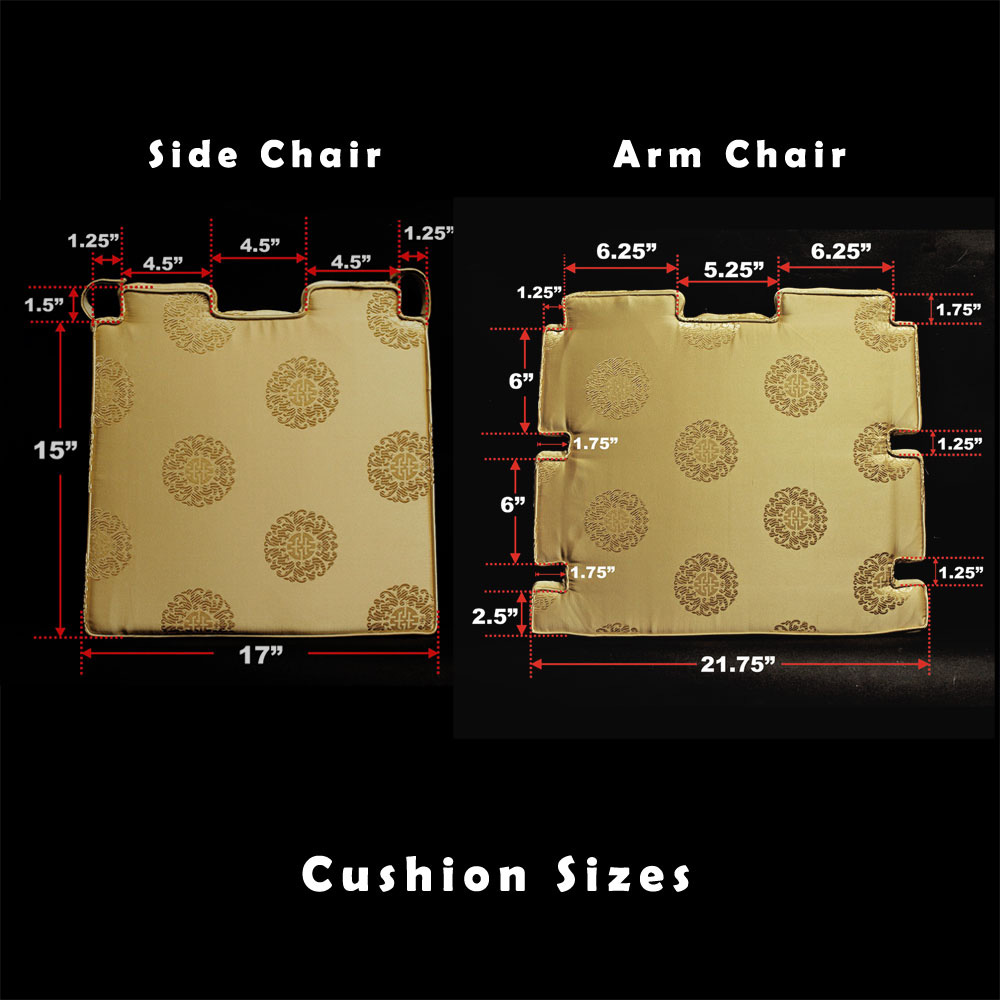 Chinese Courtyard Design 17 18 19 Dining Chair Cushion
